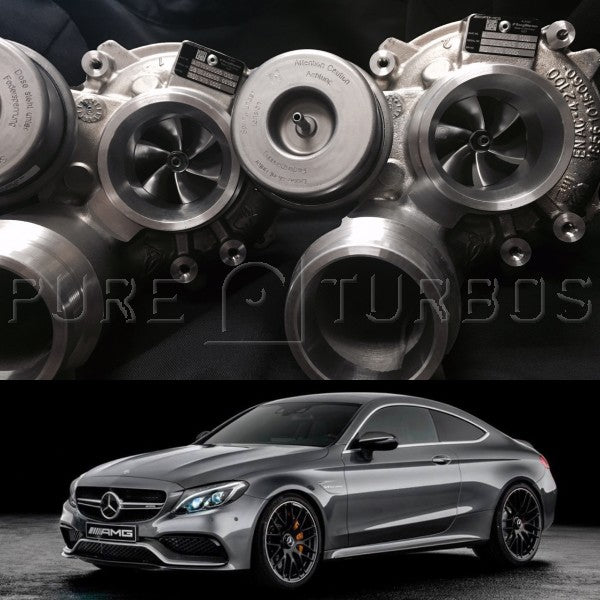 Pure Turbos Mercedes Benz C63S & AMG GT M177/M178 PURE 800 Upgrade Turbos