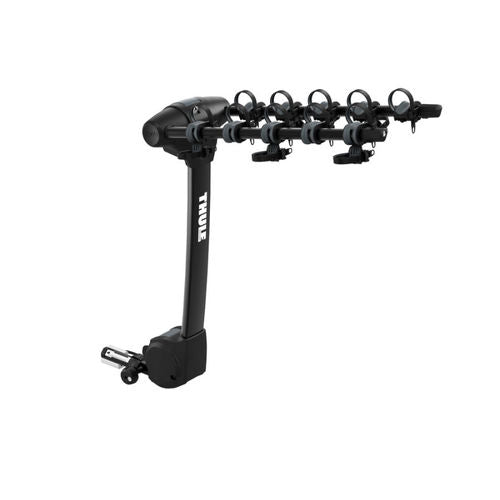 Thule Apex XT 5 - Hanging Hitch Bike Rack with HitchSwitch Tilt-Down (Up to 5 Bikes) - Black