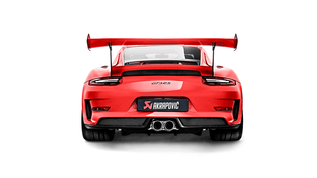 Akrapovic 2019+ Porsche 911 GT3 RS (991.2) w/OPF/GPF Slip-On Line (Titanium) (Req. Tips)