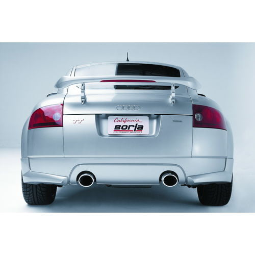 Borla 01-06 Audi TT Quattro 1.8T 225HP MT AWD 2dr Single Split Rear Exit SS Catback Exhaust (8N)