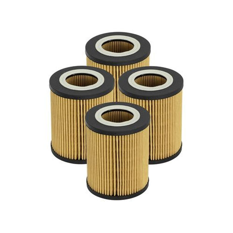 aFe POWER Pro GUARD D2 Oil Filter 96-06 BMW Gas Cars L6 (4 Pack)