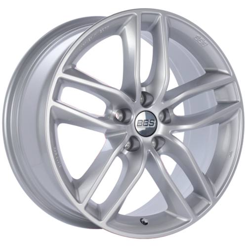 BBS SX 0301 17x7.5 5x112 ET45 Sport Silver Wheel -82mm PFS/Clip Required