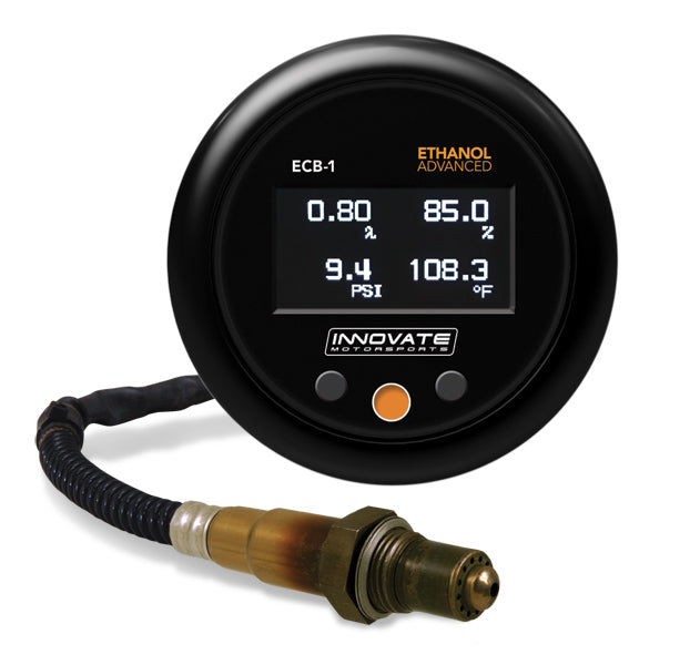Innovate ECB-1 (Boost) Ethanol Advanced Complete Gauge Kit