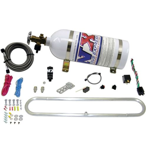 Nitrous Express N-Tercooler System for CO2 w/10lb Bottle (Remote Mount Solenoid)