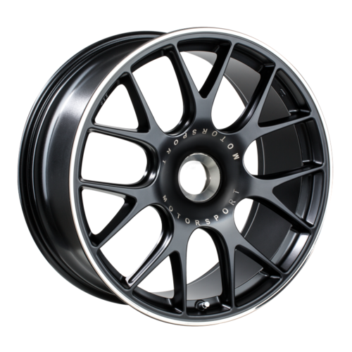 BBS 151 CH-R 20x9 CL ET51 CB84 Satin Black Polished Rim Protector Wheel