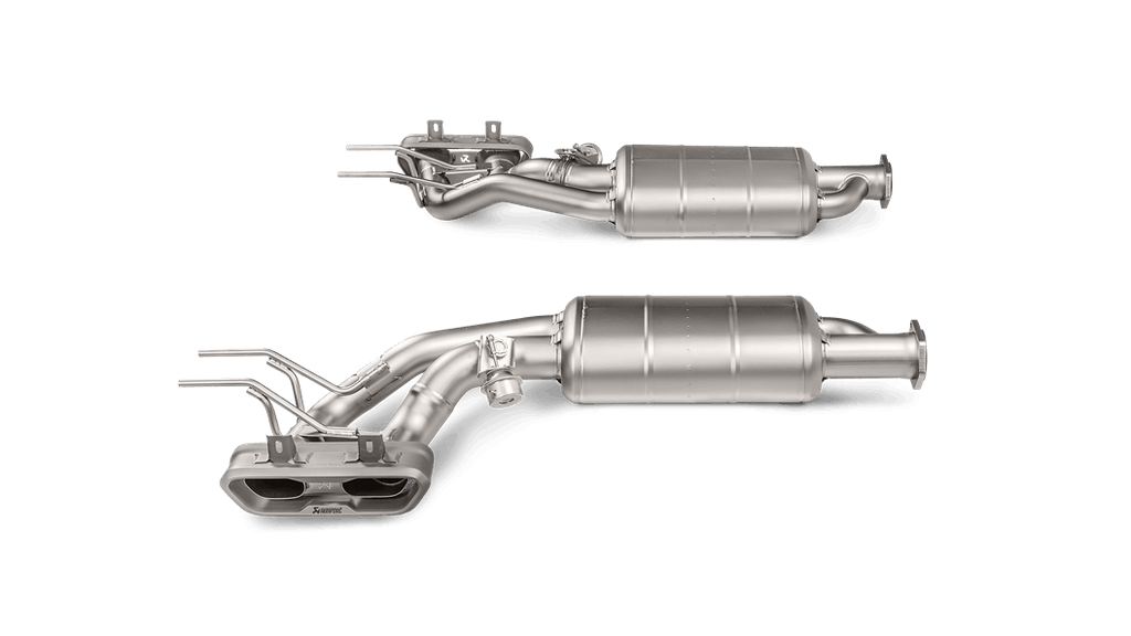 Akrapovic Mercedes Benz G63 AMG (W463) Evolution Line Cat-back (Titanium) with Titanium Tips & Fittings
