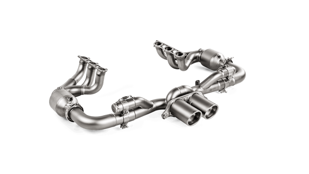 Akrapovic 2018 Porsche 911 GT3 (991.2) Evolution Race Header Set