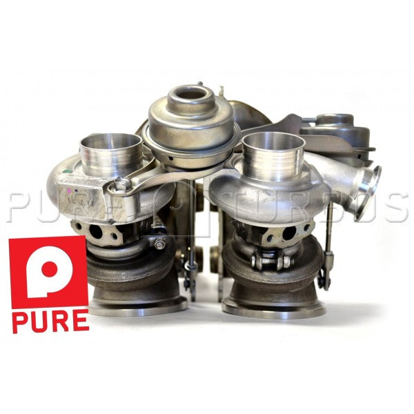 Pure Turbos BMW N54 PURE Stage 2 DD's 450-600whp