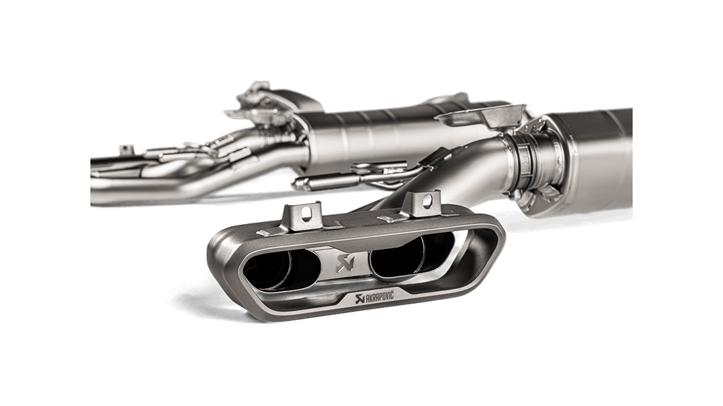 Akrapovic 2019 Mercedes-Benz G63 AMG Evolution Line w/ Cat (Titanium)