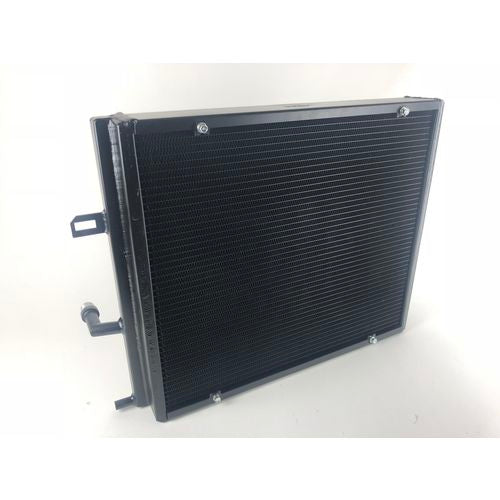 CSF BMW B58/B48 Front Mount Triple-Pass High-Performance Heat Exchanger w/Rock Guard - Black
