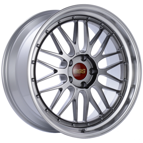BBS LM 225 20x9 5x120 ET15 Diamond Black Center Diamond Cut Lip Wheel -82mm PFS/Clip Required