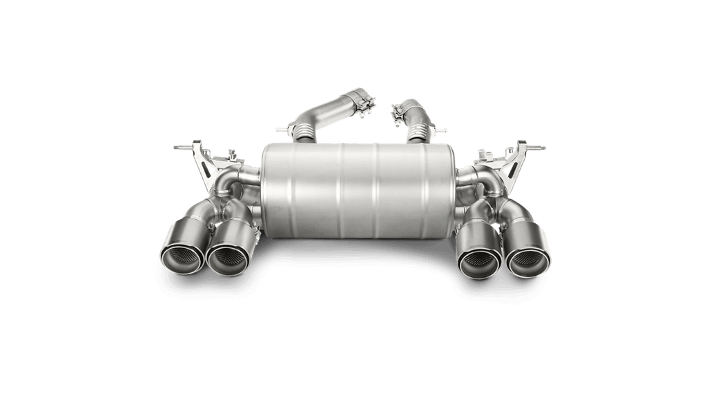 Akrapovic BMW M3/M4 (F80/F82/F83) Slip-On Line (Titanium) with Titanium Tips