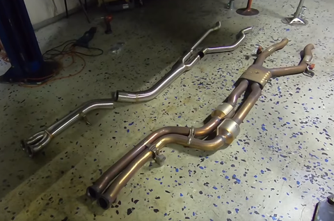 VRSF High Flow Single Mid-pipe Upgrade for 2015 - 2019 BMW M3 & M4 F80/F82 S55