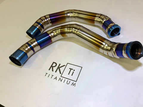 RK Titanium BMW F8X M3/M4 Titanium Charge Pipe Kit