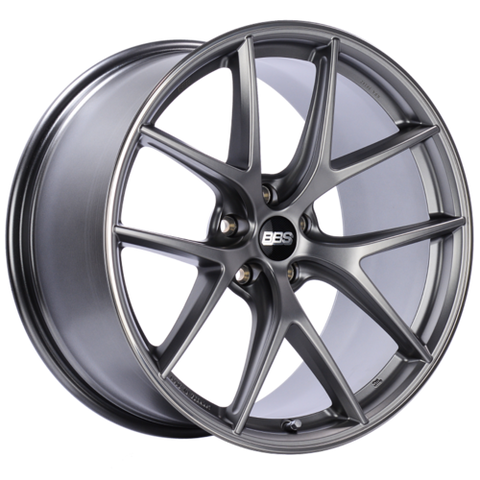BBS CI-R 0401 20x10.5 5x112 ET35 Platinum Silver Polished Rim Protector Wheel -82mm PFS/Clip Required