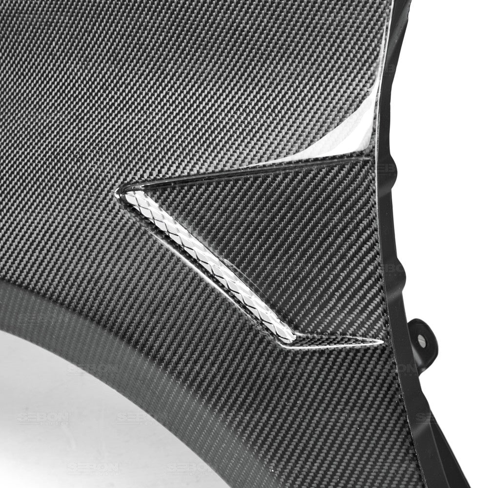 Seibon CARBON FIBER WIDE FENDERS FOR 2010-2014 VOLKSWAGEN GOLF / GTI / R