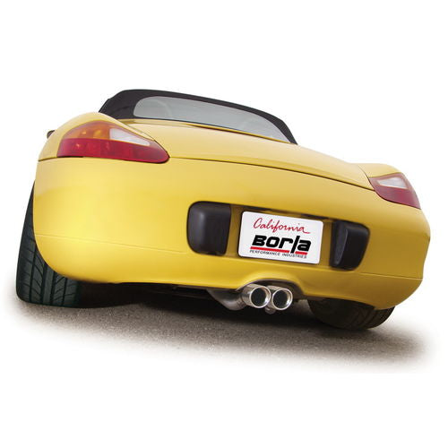 Borla Porsche 986 Boxster/ Boxster S 2000-2004 Cat-Back™ Exhaust S-Type