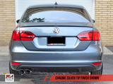 AWE Tuning Mk6 GLI 2.0T - Mk6 Jetta 1.8T Track Edition Exhaust - Polished Silver Tips