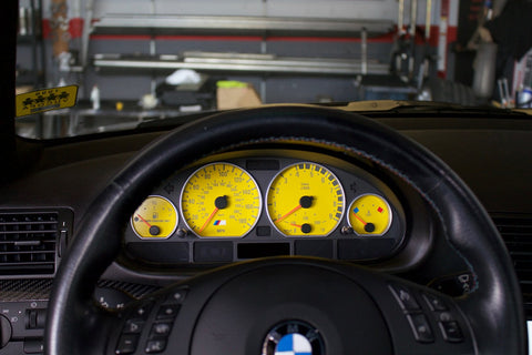 BMW E46 3-Series Sedan - Cluster Overlays
