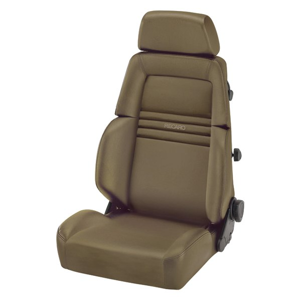Recaro Expert S Seat - Beige Leather/Beige Leather