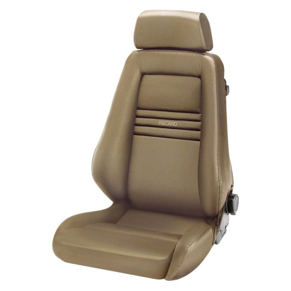 Recaro Specialist M Seat - Beige Leather/Beige Leather
