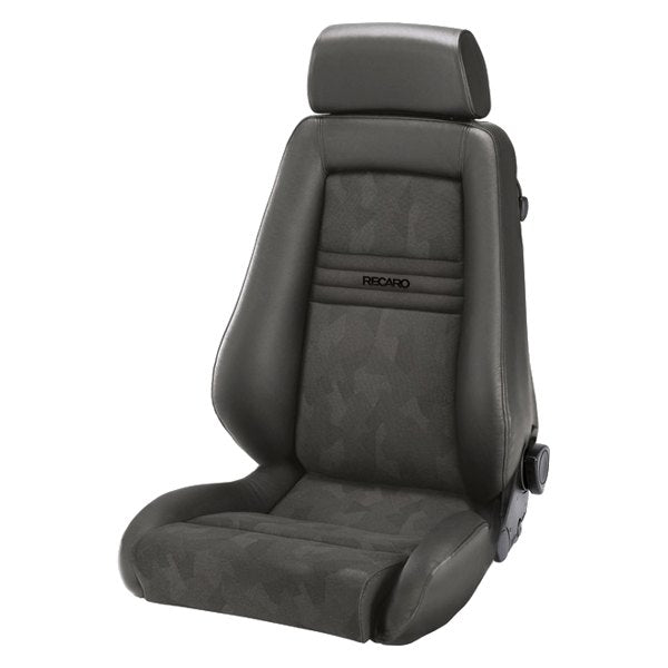 Recaro Specialist M Seat - Medium Grey Leather/Grey Artista