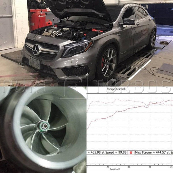 Pure Turbos Mercedes Benz M133 PURE550 Upgrade Turbo