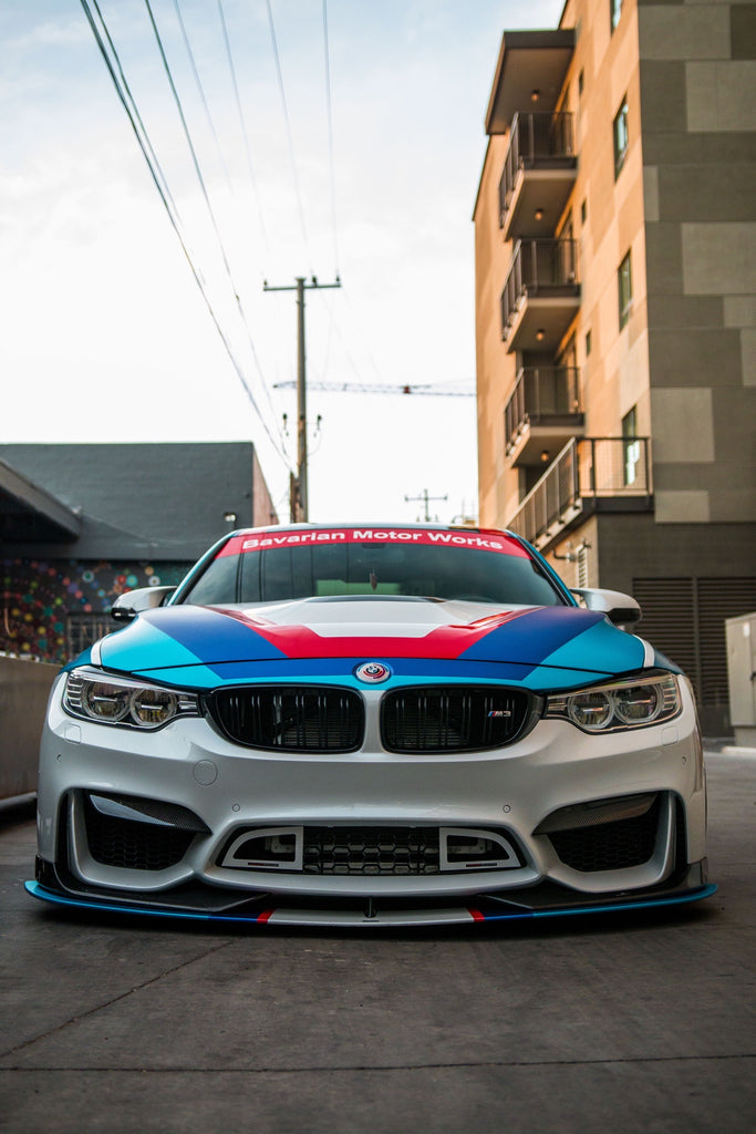 MCP Racing BMW FX3 Front Bumper Grille for the F80/F82/F83 M3/M4