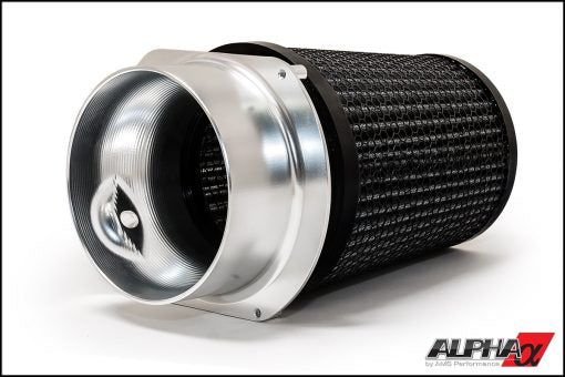 AMS Performance Alpha Mercedes-Benz AMG M133 2.0L Performance Air Filter & CNC Aluminum Adapter