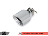 AWE Tuning Mk6 Jetta 2.5L Touring Edition Exhaust - Polished Silver Tips