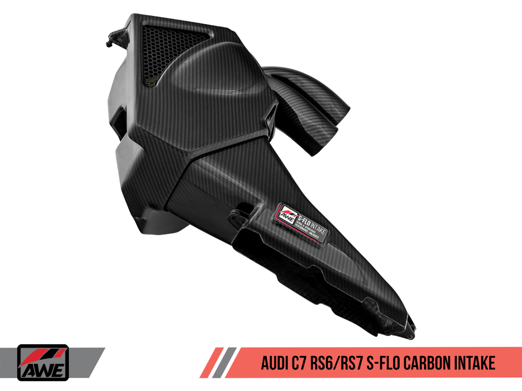 AWE TUNING S-FLO CARBON INTAKE FOR AUDI C7 RS 6 / RS 7 4.0T