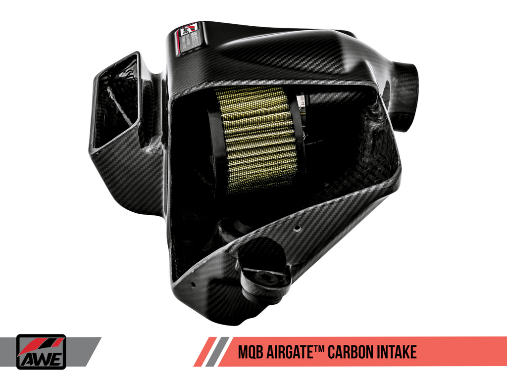 AWE TUNING AIRGATE™ CARBON INTAKE FOR AUDI / VW MQB WITHOUT LID