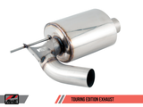 AWE Tuning BMW F22 M235i / M240i Touring Edition Axle-Back Exhaust - Chrome Silver Tips (90mm)