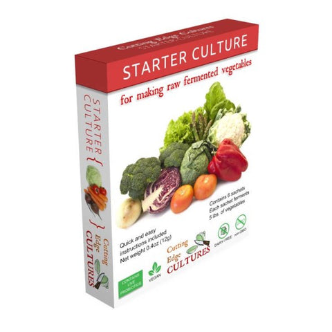 Starter Cultures Raw Fermented Vegetables