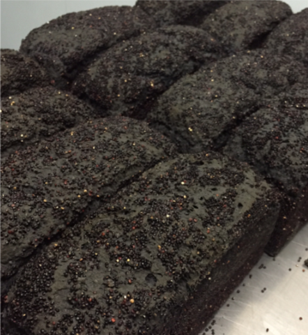 Nonies Gluten Free Bread - Charcoal and Black Quinoa