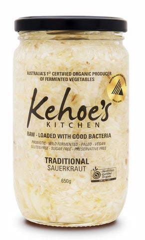 Traditional Sauerkraut 650gms