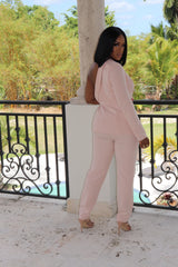 "The ""Pick a side"" Blush Suit Set"