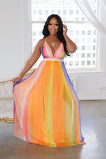 "The ""Spring Me"" Multi Maxi Dress"