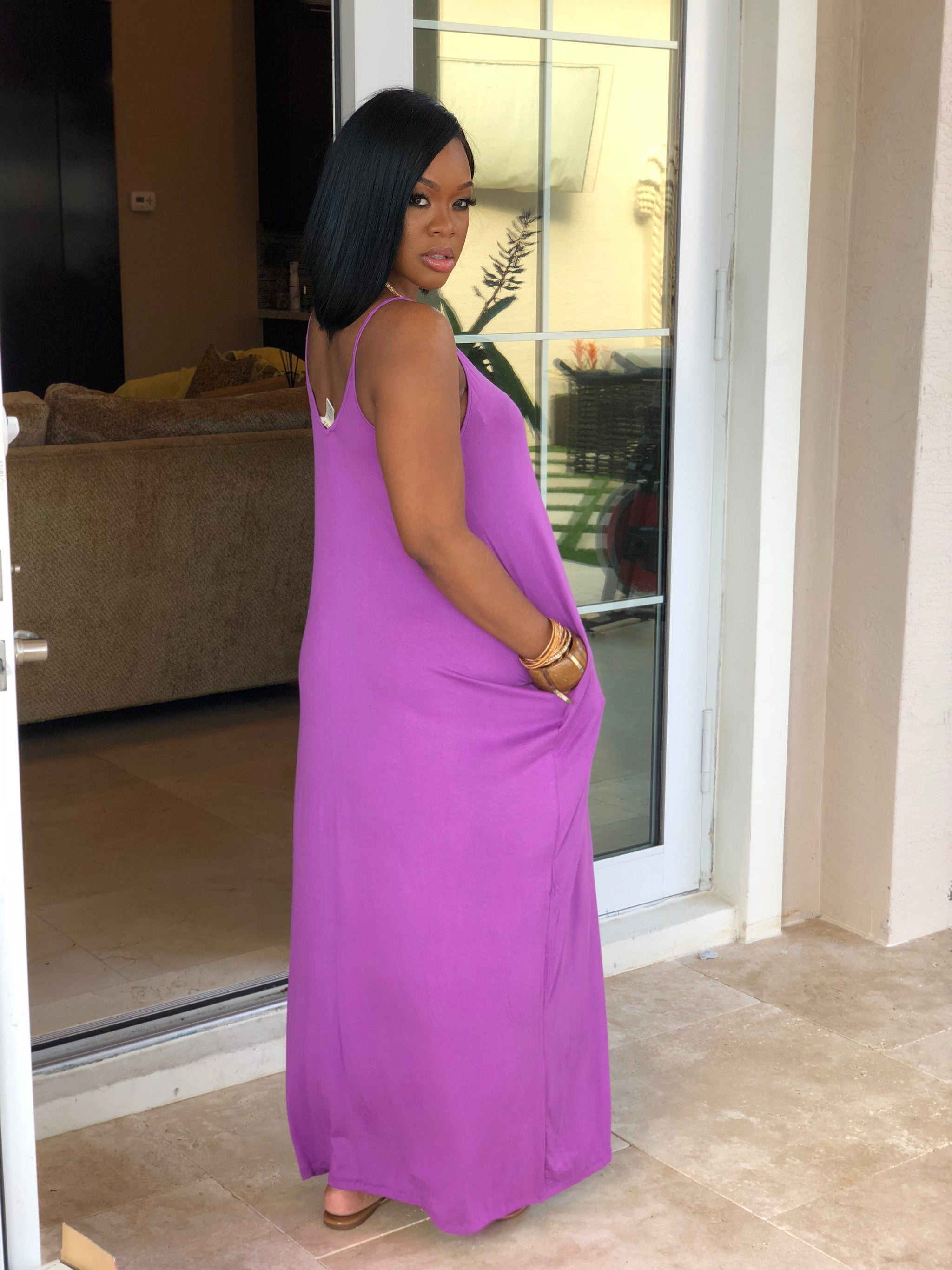 "The ""Lavender"" Maxi Dress"