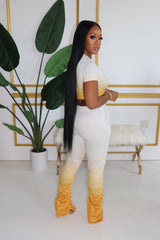 "The ""Nikki Girl"" Yellow Set"