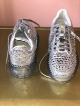 Silver Sparkle Stylish Sneaker