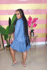 "The ""Cool It Off"" Denim Dress"
