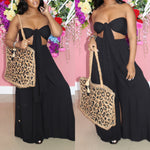 "The ""Leopard"" Tote Beach Bag( BAG ONLY)"