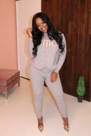 "The ""Chic"" Grey Set"