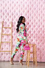 "The ""Floral Chic"" Pants Set"