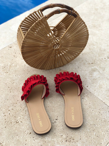"The ""Red"" Summer Sandals"