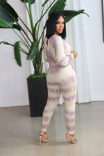 "The ""Melanie"" Plum Jumpsuit"