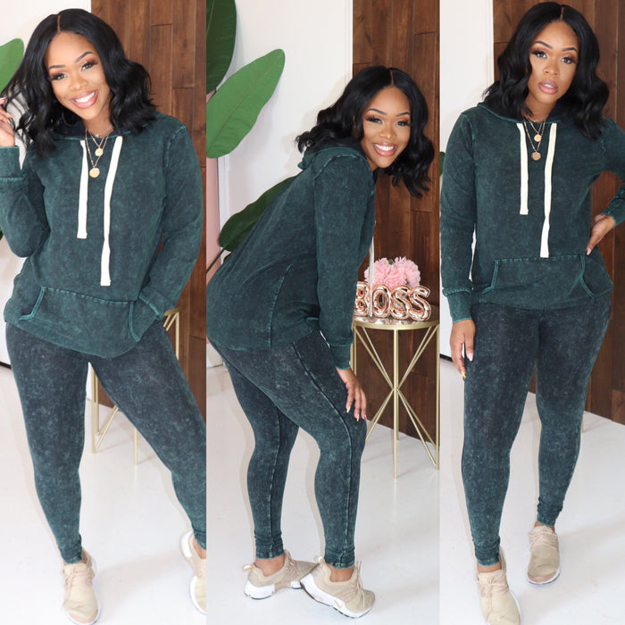 "The ""Kelis"" Forest Green Set"