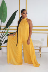 "The ""Esther 2"" Mustard Jumpsuit"