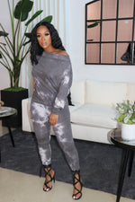 "The ""It's always Cozy"" Grey Set"